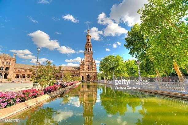 Sevilla - Plaza de España - Torre Sur