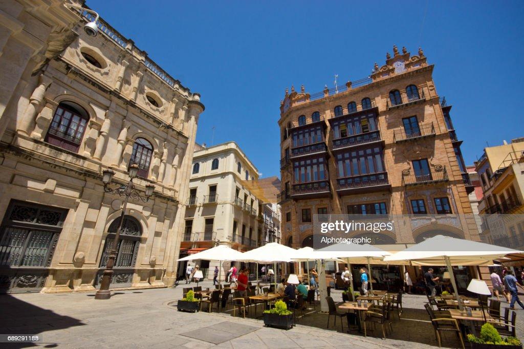 Seville architecture : Stock Photo