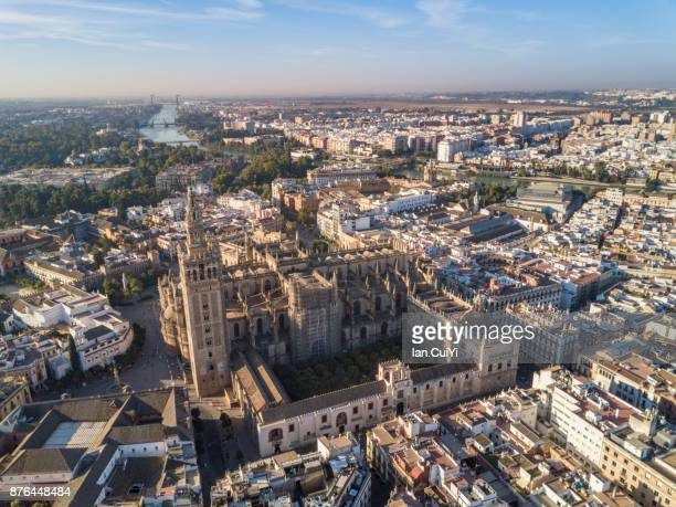 Seville - Cathedral and Giralda tower