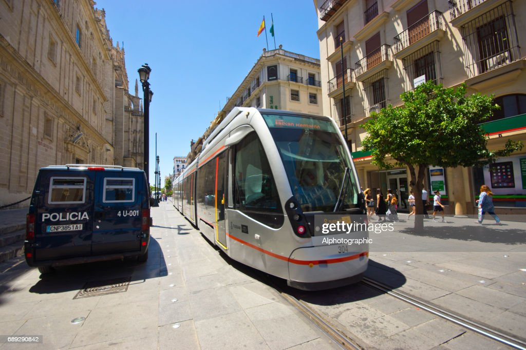 Seville centre : Stock Photo