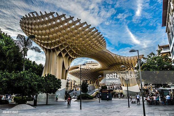 seville - metropol parasol - granada spain landmark stock pictures, royalty-free photos & images