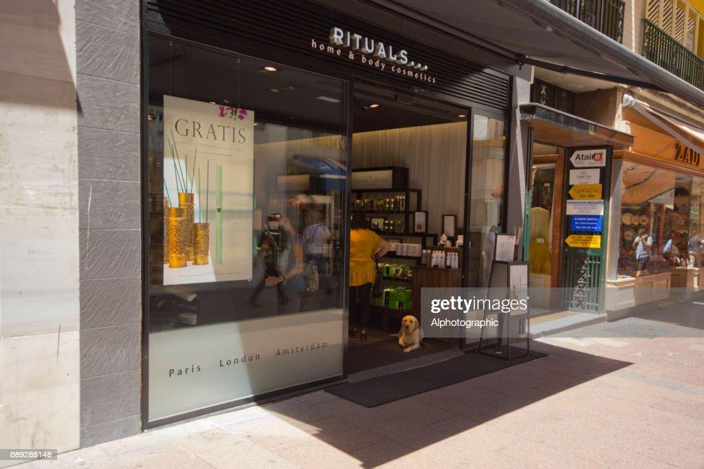 Seville shop front : Stock Photo