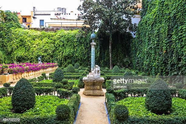 Seville - The gardens of Casa de Pilatos
