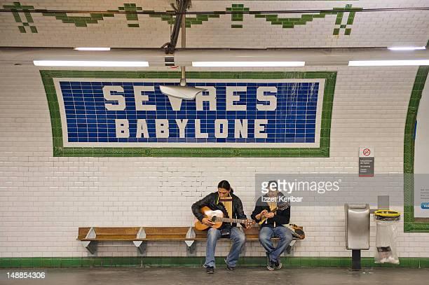 Sevres Babylone Metro Station.