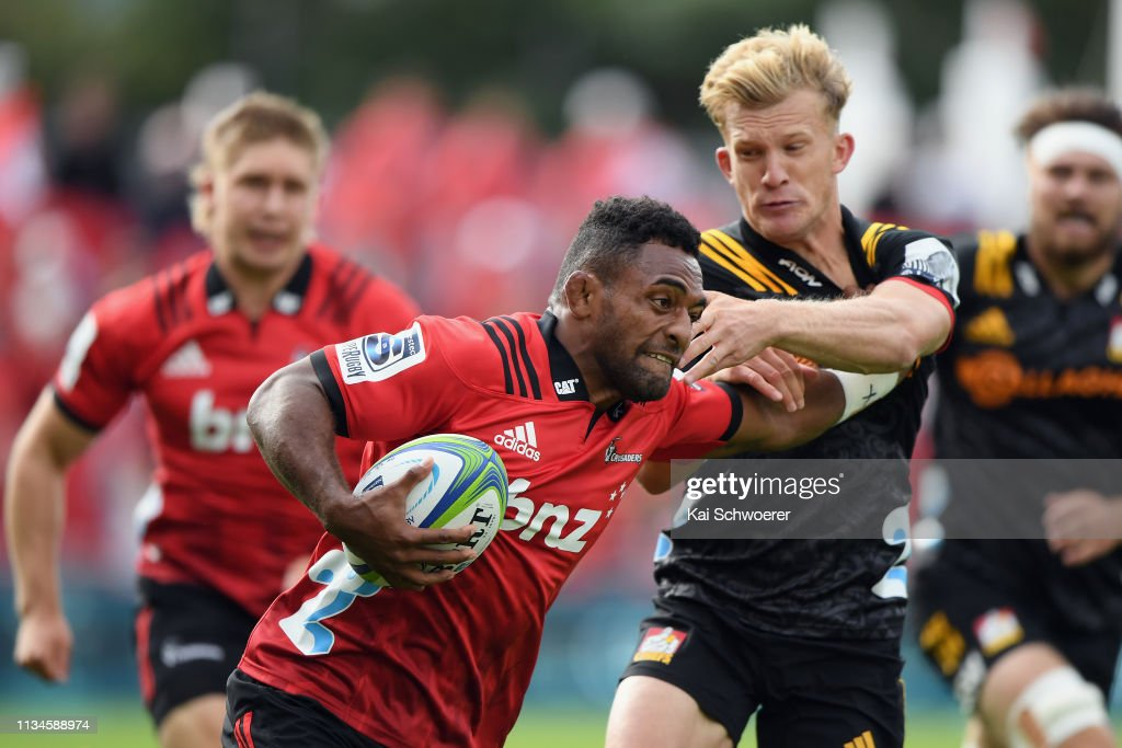 Super Rugby Rd 4 - Crusaders v Chiefs : News Photo