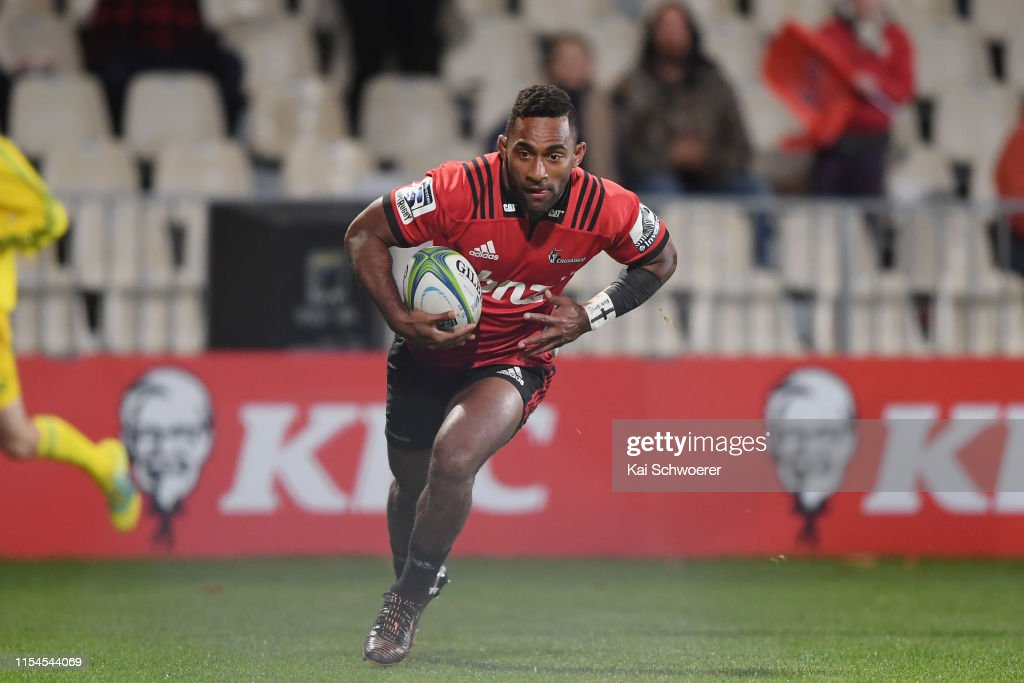 Super Rugby Rd 17 - Crusaders v Rebels : News Photo