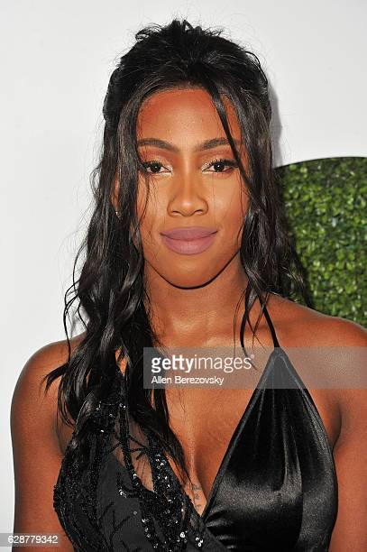 Sevyn Streeter attends GQ Men of The Year Party at Chateau Marmont on December 8 2016