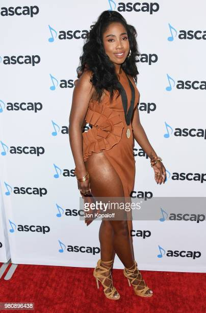 Sevyn Streeter attends the 2018 ASCAP Rhythm Soul Music Awards at the Beverly Wilshire Four Seasons Hotel on June 21 2018 in Beverly Hills California