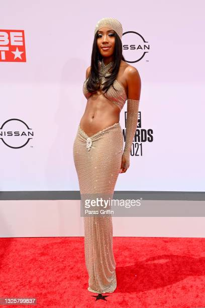 Sevyn Streeter attends the BET Awards 2021 at Microsoft Theater on June 27, 2021 in Los Angeles, California.