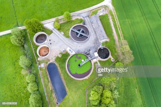 Sewage treatment plant - waste water purification