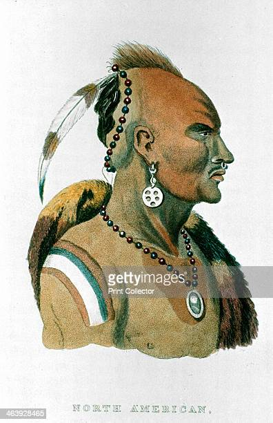 Sewessissing Chief of the Iowa Indians 1837 From The Animal Kingdom by George Cuvier