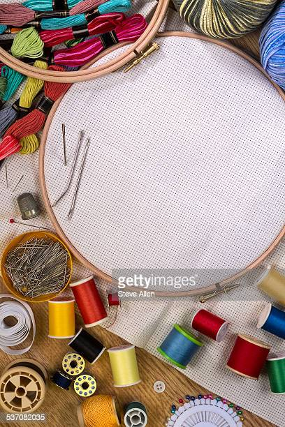 Embroidery Frame Stock Photos and Pictures | Getty Images