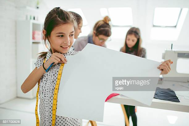 Sewing class for kids.
