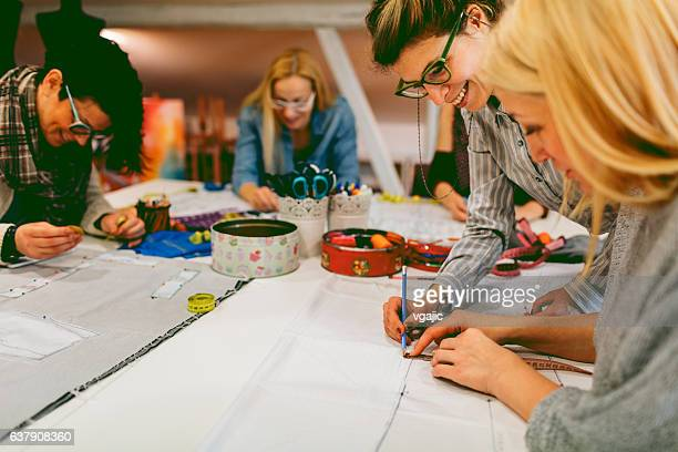 sewing class. - art and craft stock pictures, royalty-free photos & images