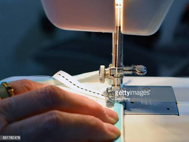 Sewing closeup