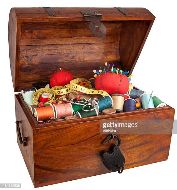 sewing items Treasure Chest