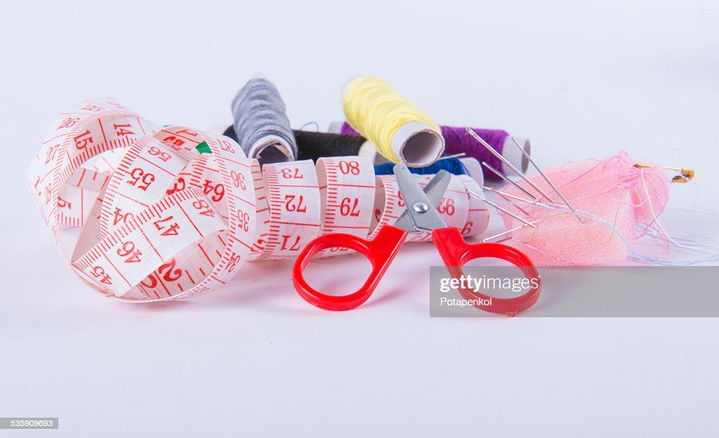Sewing kit : Stock Photo