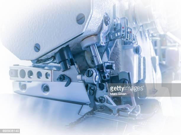 sewing machine - needle plant part stock photos and pictures