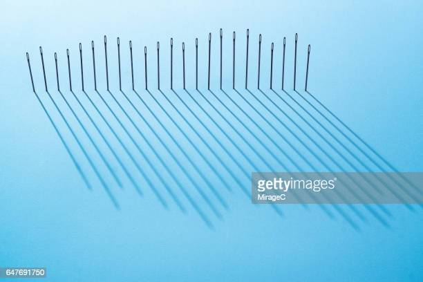Sewing Needles Long Shadow