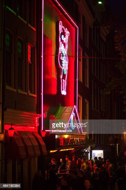 Sex und Peep-Show Casa Rosso in Amsterdam
