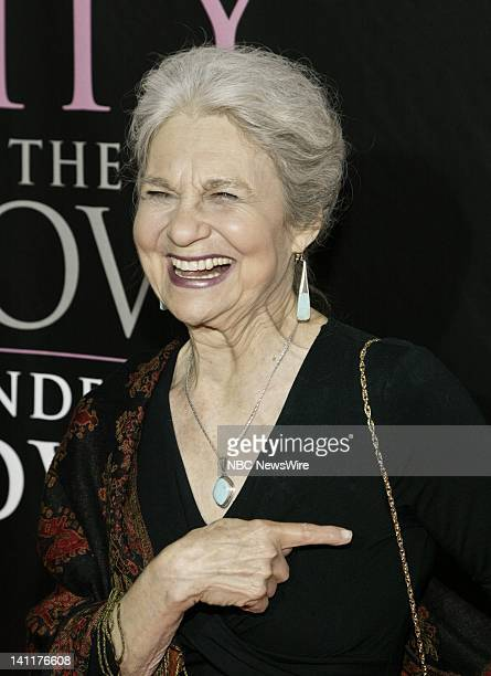 NBC NEWS Sex and the City The Movie DVD Launch Pictured Actress Lynn Cohen attends the Sex and the City The Movie DVD launch at the New York Public...