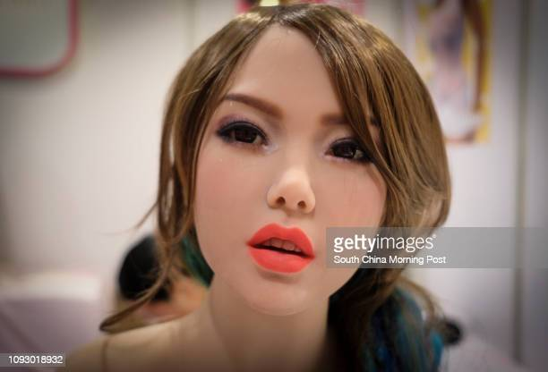 Sex dolls on display at the Asia Adult Expo 2017 at Hong Kong Convention and Exhibition Centre in Wan Chai Hong Kong 30AUG17 [FEATURES] SCMP / James...