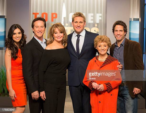 MASTERS 'Sex Greed and Murder' Episode 503 Pictured Judges Camila Banus Drake Hogestyn Deidre Hall Curtis Stone Peggy McKay Shawn Christian