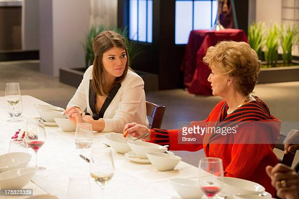 MASTERS 'Sex Greed and Murder' Episode 503 Pictured Judges Gail Simmons Peggy McCay