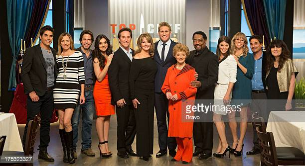 MASTERS 'Sex Greed and Murder' Episode 503 Pictured Judges Galen Gering Arianne Zucker Shawn Christian Camila Banus Drake Hogestyn Deidre Hall Curtis...