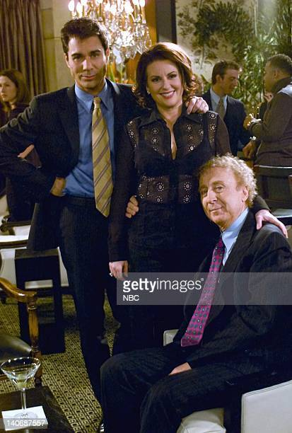 WILL GRACE 'Sex Losers Videotape' Episode 19 Pictured Eric McCormack as Will Truman Megan Mullally as Karen Walker Gene Wilder as Mr Stein Photo by...