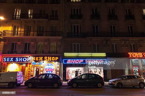 sex shops in the Pigalle - Paris