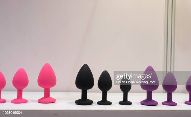 Sex toys on display at the Asia Adult Expo 2017 at Hong Kong Convention and Exhibition Centre in Wan Chai Hong Kong 30AUG17 [FEATURES] SCMP / James...