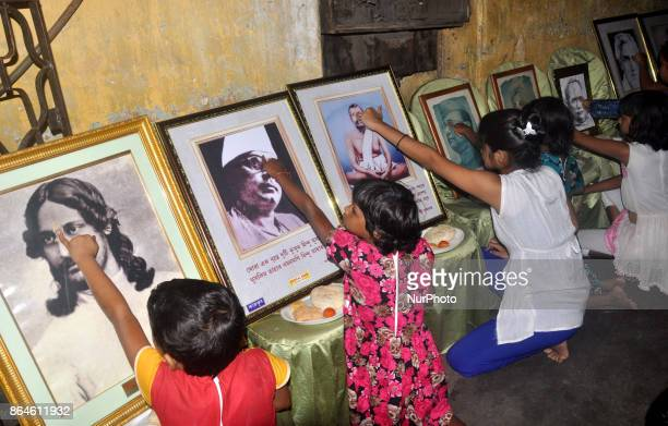 Sex Workers and Street Children celebrates the Bhai Dhoot Festival on October 212017 in KolkataIndia