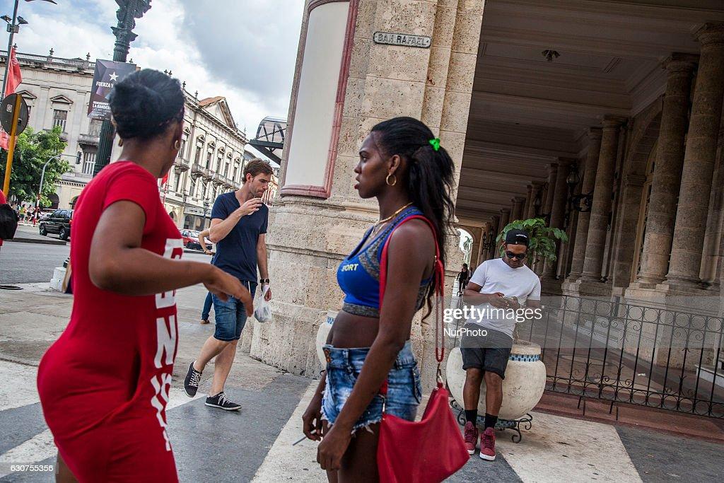 Prostitutes in Havana