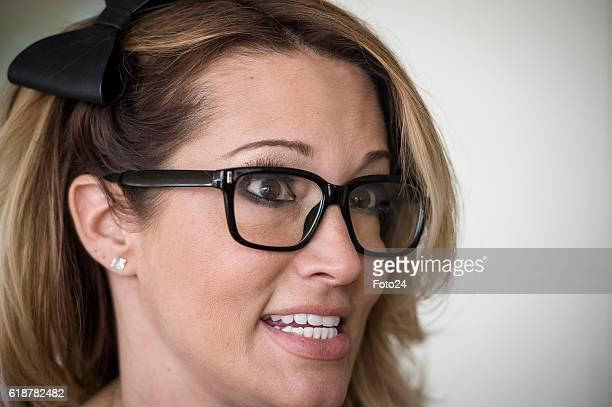 Sexologist and actress Jessica Drake during an interview at the 2016 Sexpo event in Johannesburg South Africa The Sexpo team announced its full...