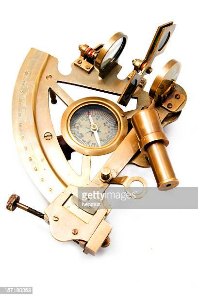 A sextant isolated on white background