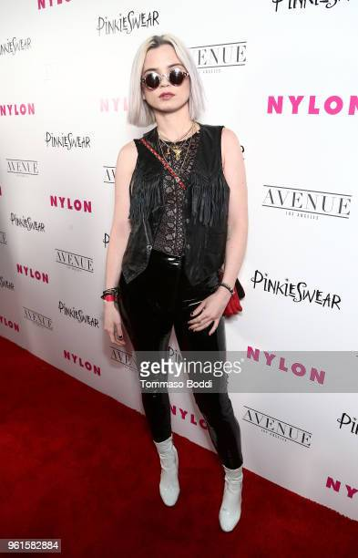 Sexton attends NYLON's Annual Young Hollywood Party sponsored by Pinkie Swear at Avenue Los Angeles on May 22 2018 in Hollywood California