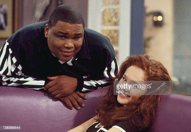 TIME 'Sexual Harrassment' Episode 2 Pictured Anthony Anderson as Teddy Broadis Amber Barretto as Kristy Ford