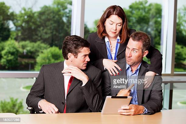 sexual harrassment in the workplace - witness stock pictures, royalty-free photos & images
