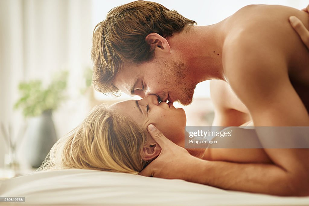 Sexual intimacy meets emotional intimacy : Stock Photo