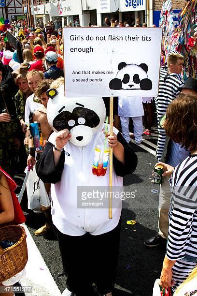 Sexually Harrasing Panda
