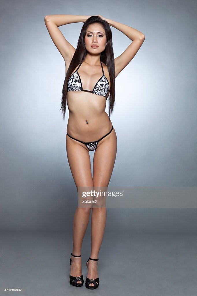 Bikini community girl type