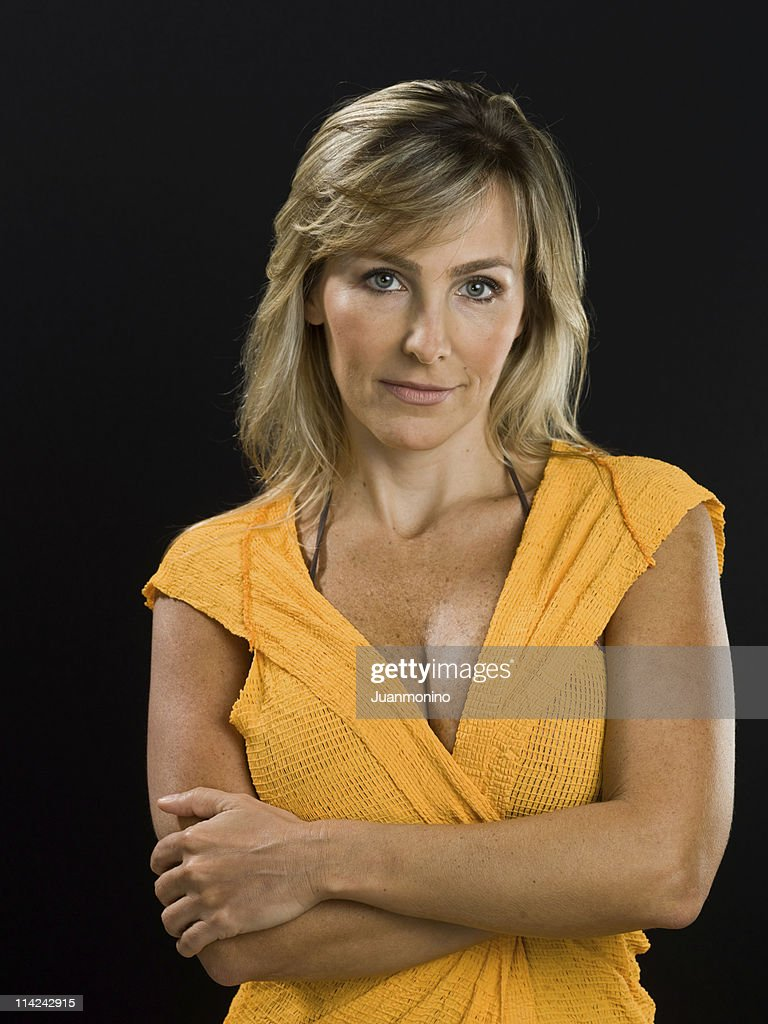 Sexy at her forties : Stock Photo