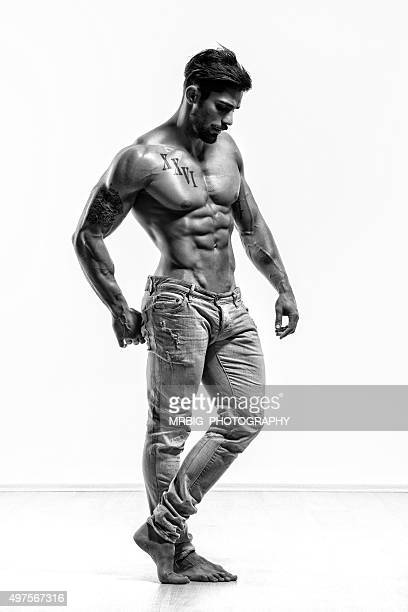 Sexy Athletic Male Model