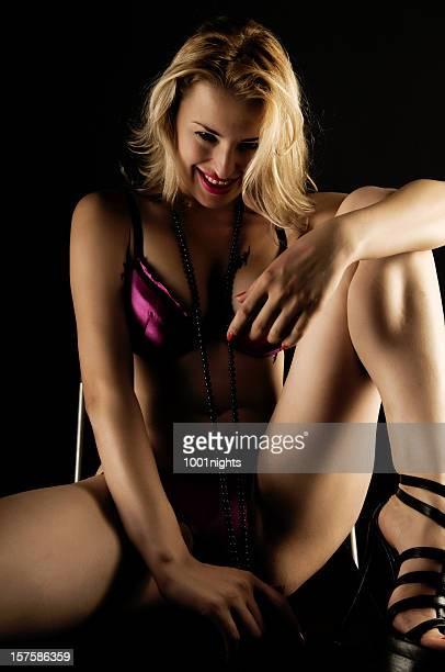 sensuale bellezza - spogliarellista foto e immagini stock