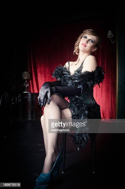 Sexy Burlesque Dancer