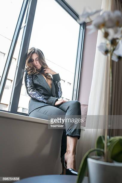 sexy business woman - female foot models stock pictures, royalty-free photos & images