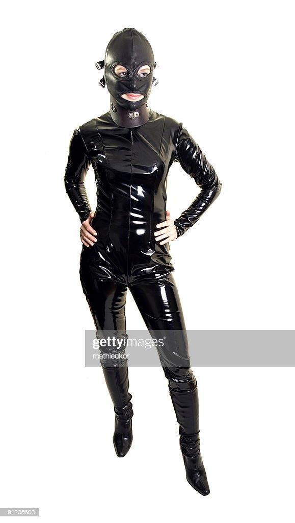 Sexy catsuit : Stock Photo