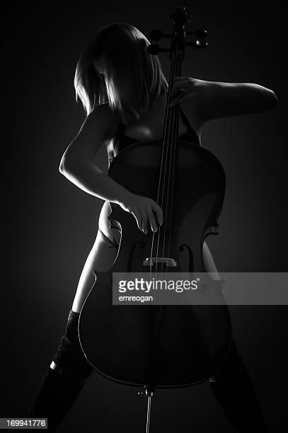 Sexy cellist