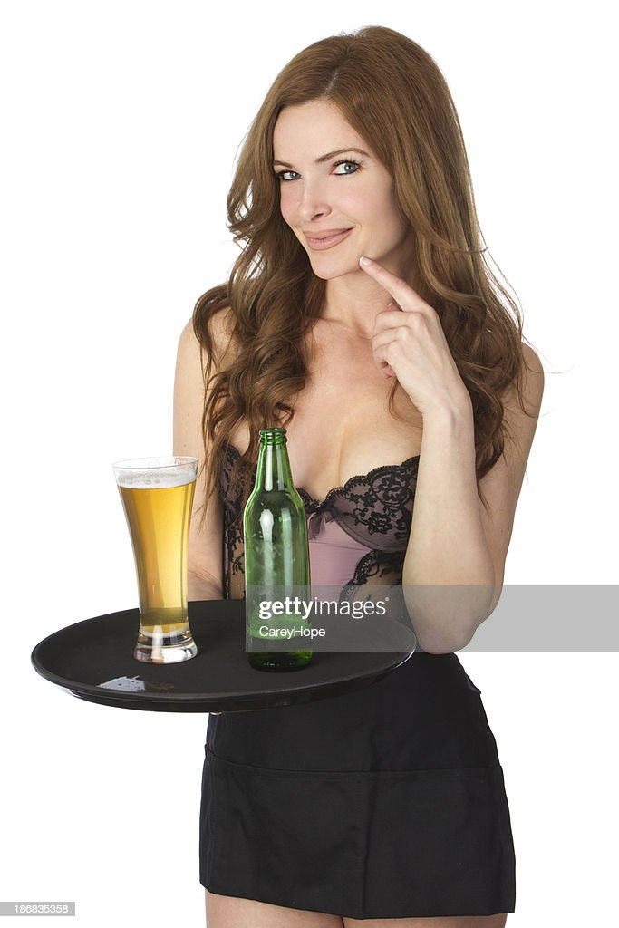 sexy cocktail Serveuse